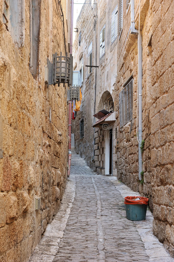 Download Old Town street stock image. Image of wall, acre, light - 28840799