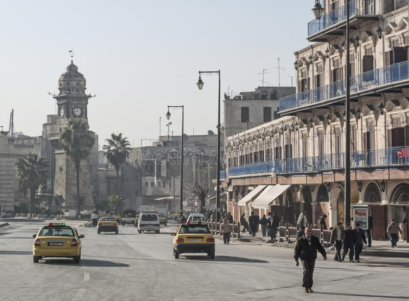 Download Street in aleppo syria editorial stock image. Image of travel - 29892069