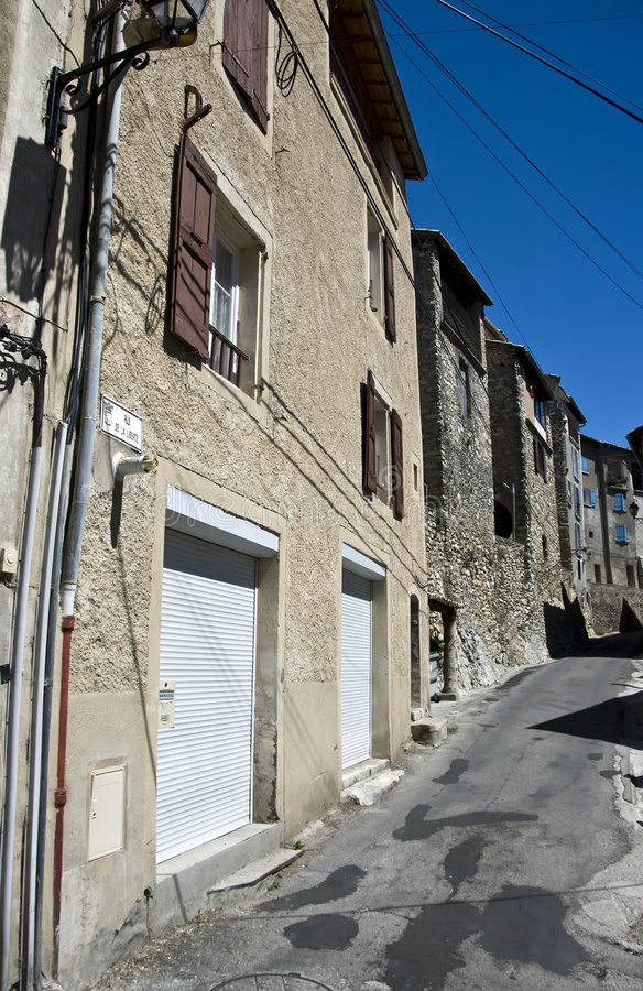 Download Old Town Street In Provence Stock Photo - Image: 6037586