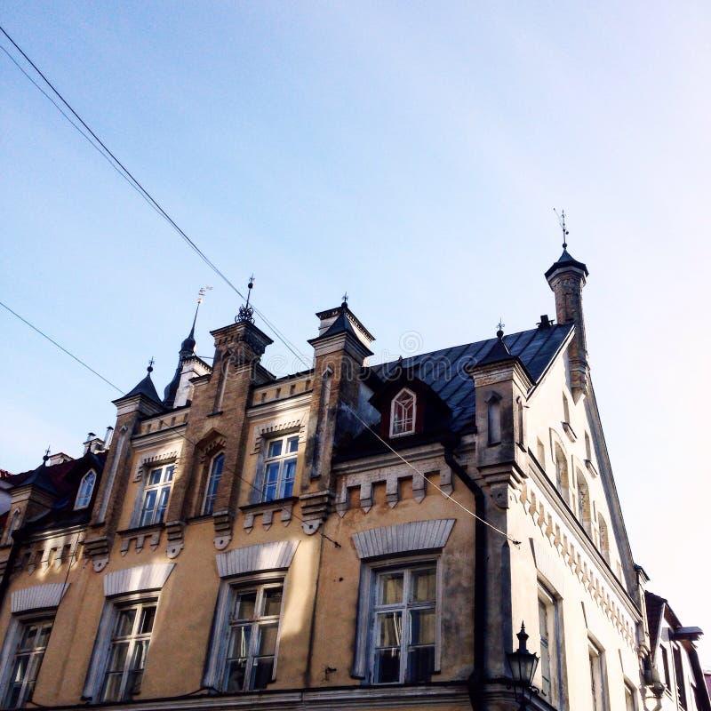 Old Town Tallin stock photo