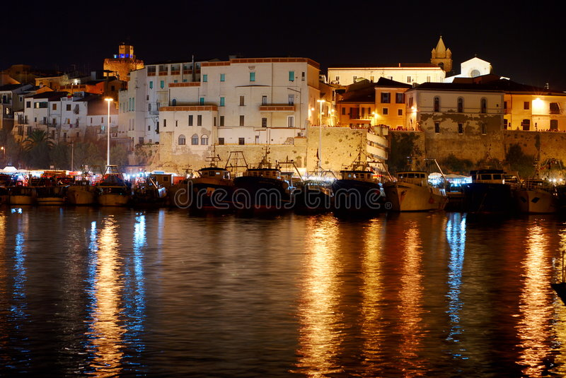 Old town of Termoli royalty free stock images