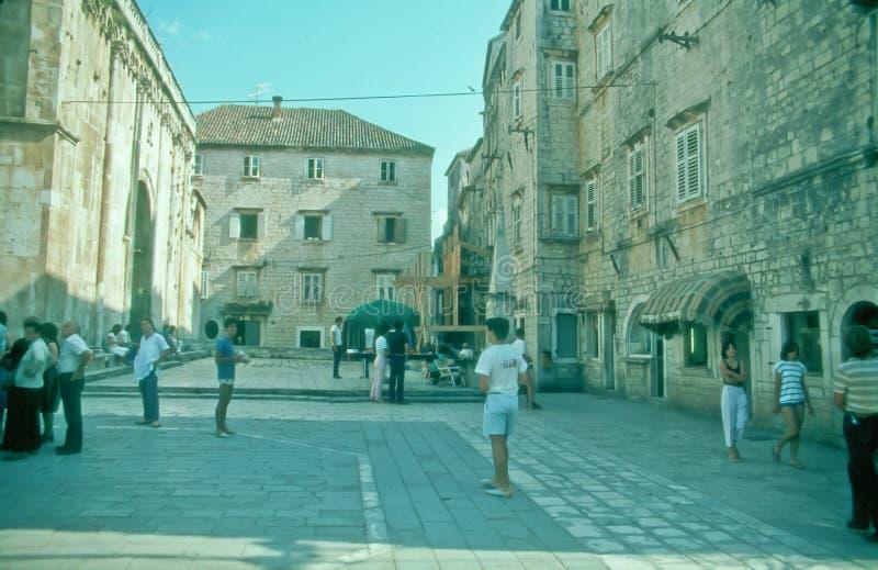 Old Town of Trogir, Croatia. royalty free stock photos