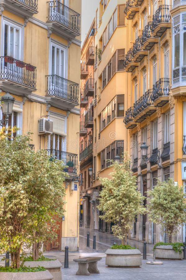 Old town, Valencia, Spain stock image
