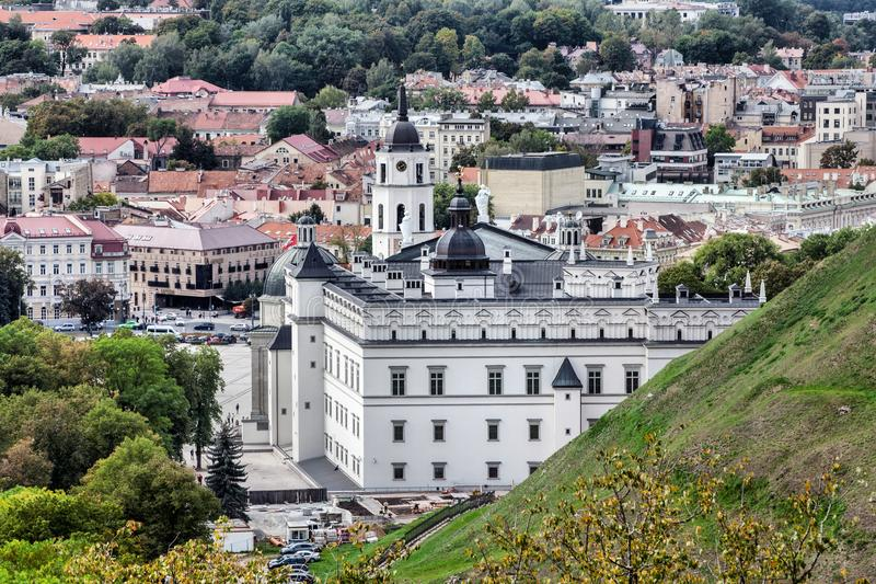 Old Town in Vilnius. Vilnius is the capital of Lithuania and its largest city. Europe royalty free stock image