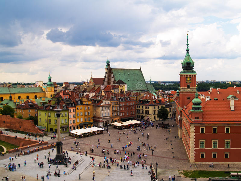 Download Old town, Warsaw, Poland stock photo. Image of city, medieval - 20015178
