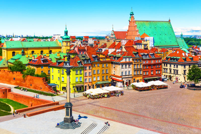 Download Old Town in Warsaw, Poland stock photo. Image of famous - 84158706