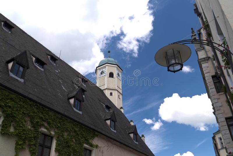 Old Town of Weiden, Germany. In the Old Town of Weiden in Germany stock image