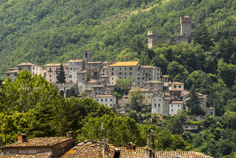 Old towns along the Salaria road