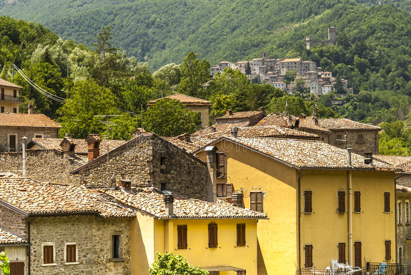 Download Old Towns Along The Salaria Road Stock Image - Image: 29302015