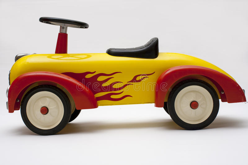 Old toy car royalty free stock photo