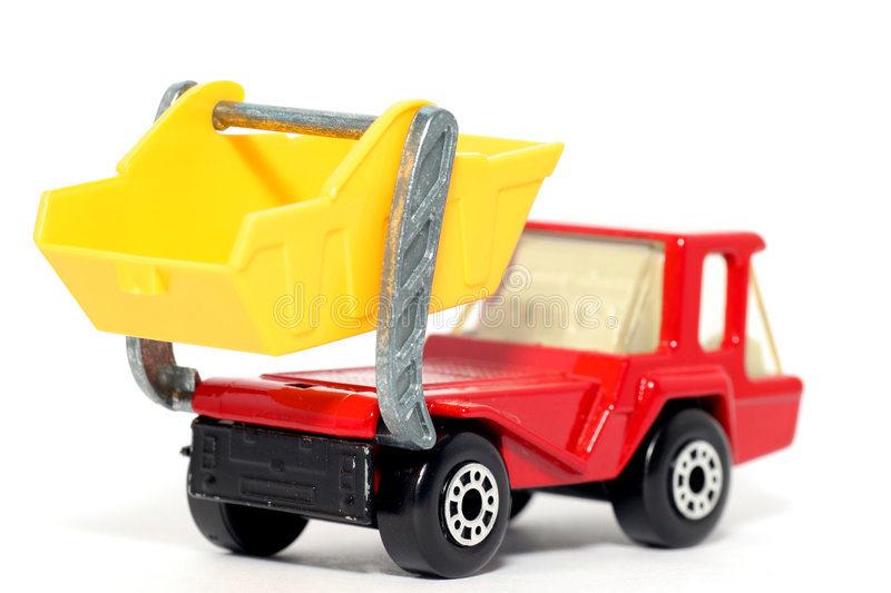 Download Old Toy Car Atlas Skip Truck #2 Royalty Free Stock Image - Image: 1973886