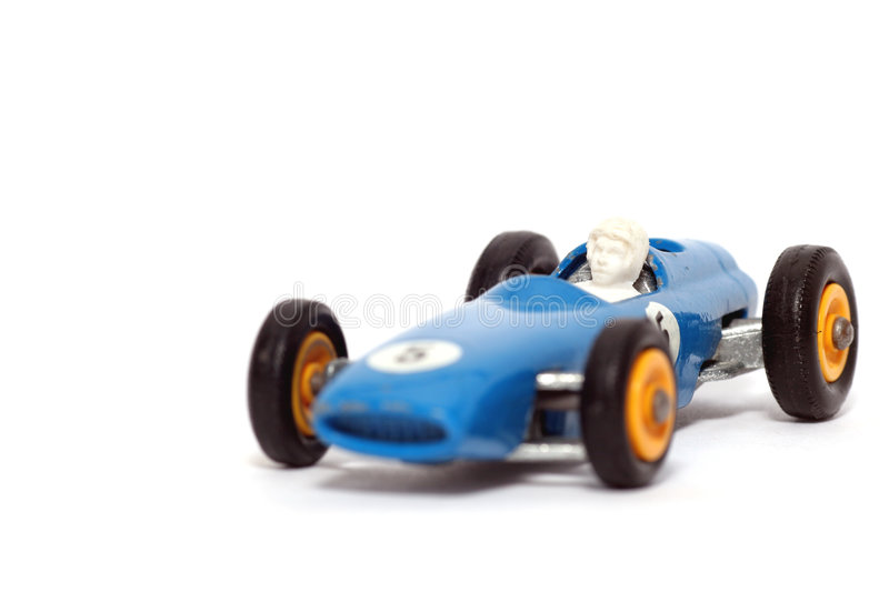 Old Toy Car B.R.M. Race Car #2 Royalty Free Stock Image