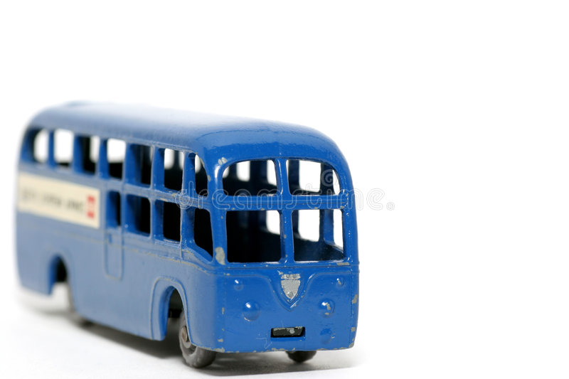 Old Toy Car BEA Coach Royalty Free Stock Image