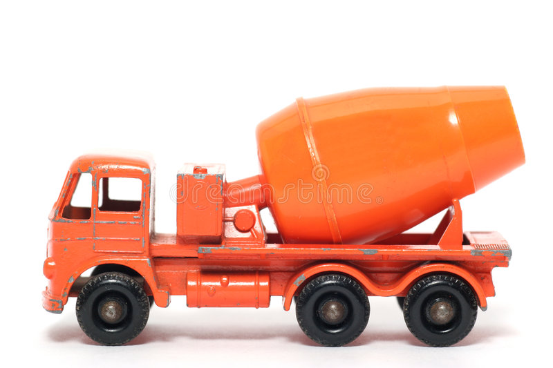 Old toy car Foden Cement Mixer #3 royalty free stock images