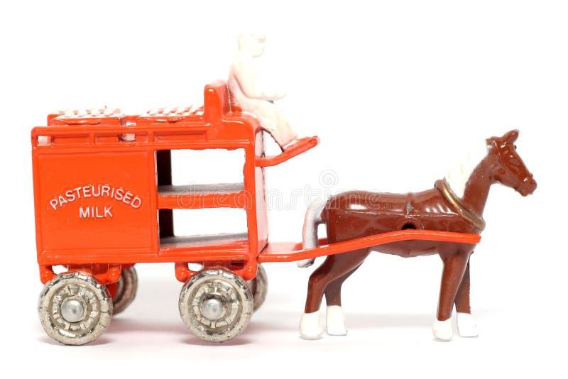Old toy car Horse Drawn Milk Float