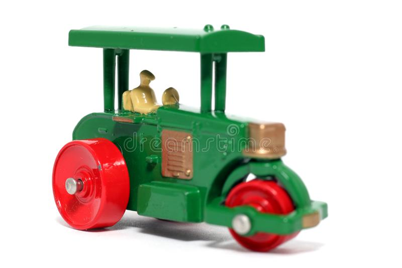 Old toy car Road Roller #2 stock image