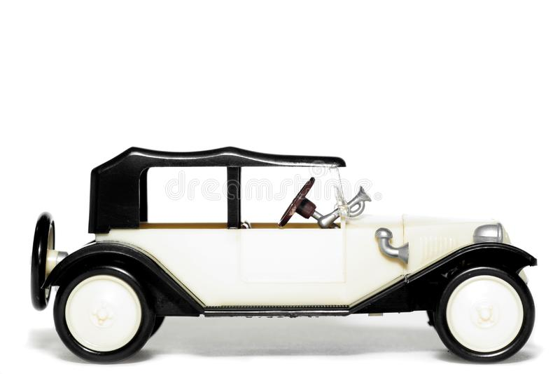 Old toy car Tatra 11 Faeton royalty free stock image