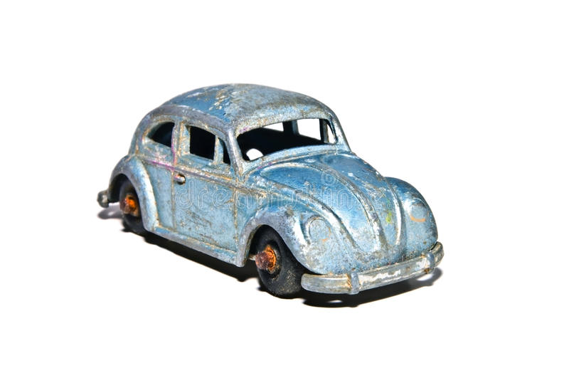 Old Toy Car / Volkswagon Bug royalty free stock images