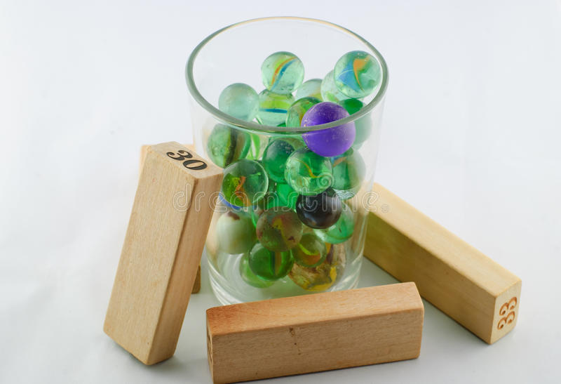 Download Old toy marbles stock image. Image of play, light, orbs - 50938317