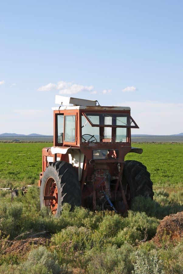 Download Old Tractor stock image. Image of harvest, reap, vintage - 39501445