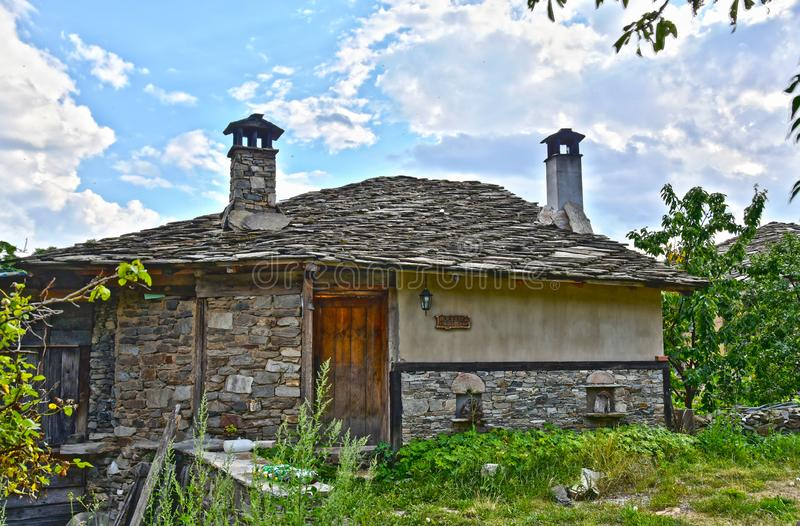 Old Traditional House in Bulgaria royalty free stock photo