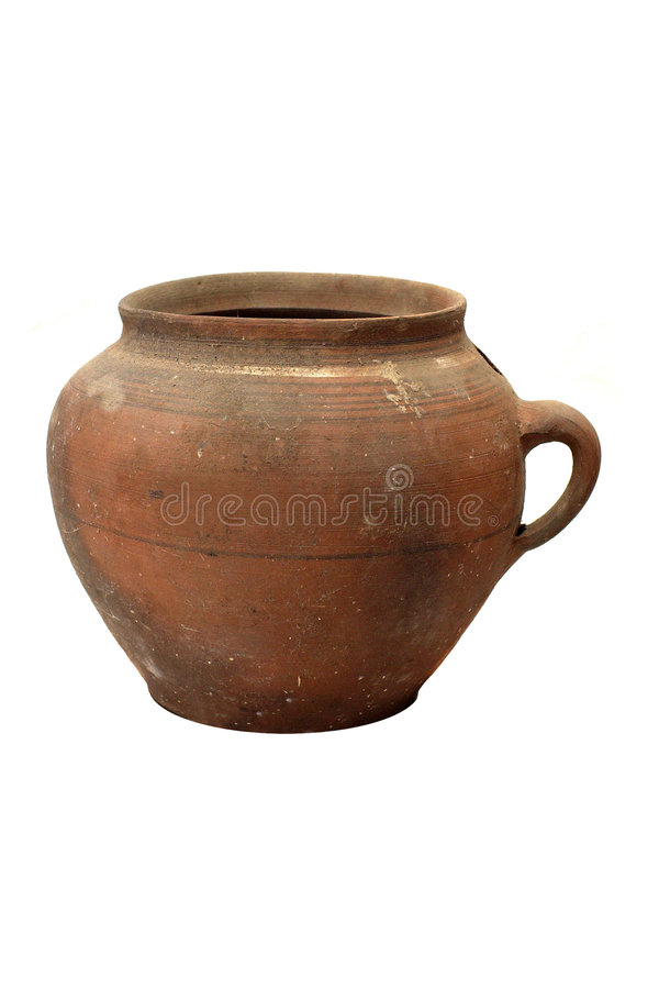 Download Old traditional pot stock image. Image of antique, brown - 4034083