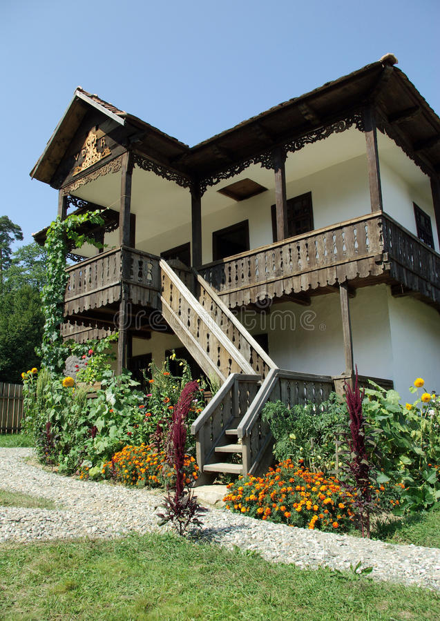 Download Old Traditional Village House Stock Image - Image: 11703933