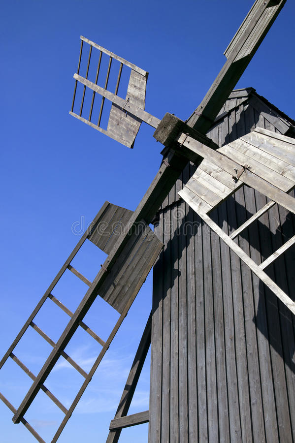 Download Old traditional windmill stock image. Image of sweden - 25866915