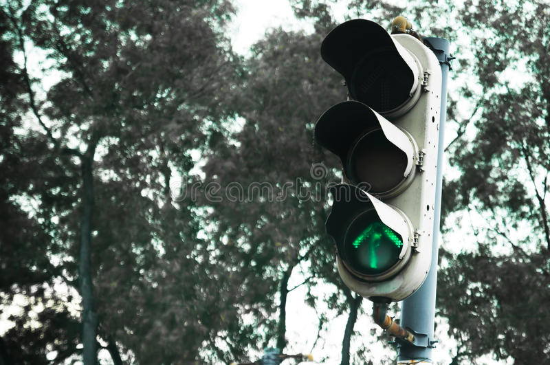 The Old Traffic Light