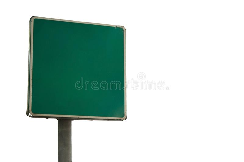 Old traffic sign stock image