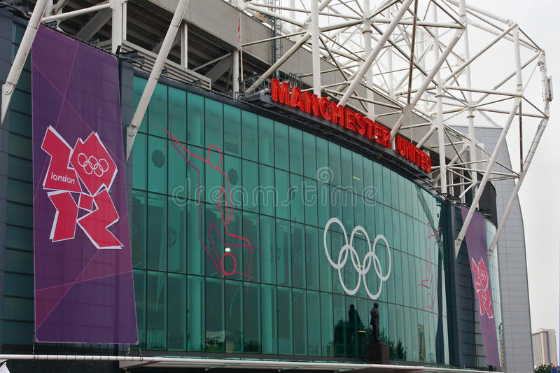 Download Old Trafford, London 2012. editorial stock photo. Image of busby - 25895473