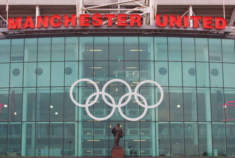 Old Trafford, London 2012. Editorial Stock Photo