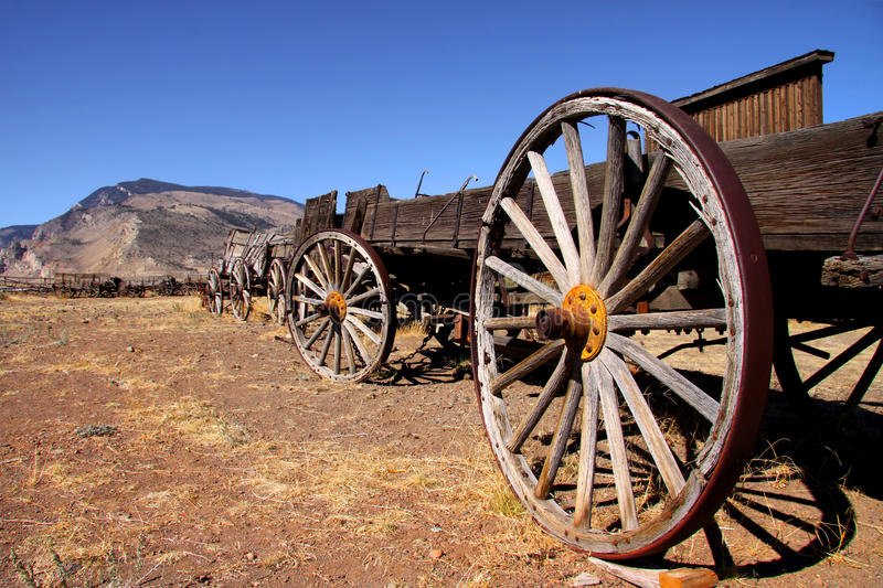 Download Old Trail town stock photo. Image of desert, wyoming - 16695226