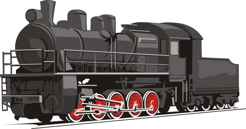 Old train royalty free stock photography