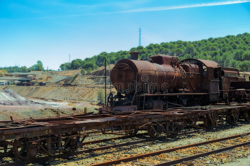 Old train stock photos