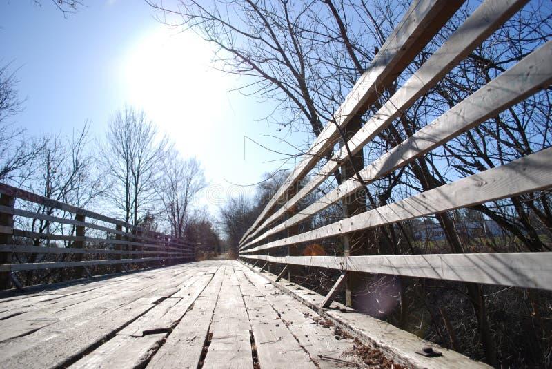 Download Old Train Bridge stock image. Image of clear, barren - 11818067