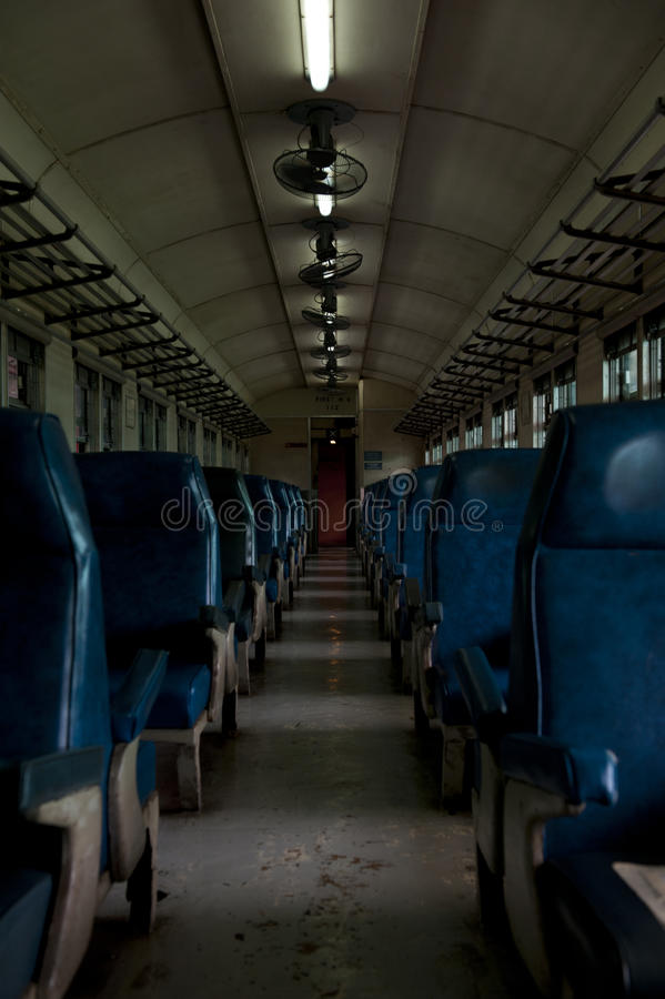 Old Train Cabin Royalty Free Stock Photo