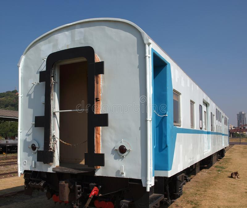 Old Train Car stock image