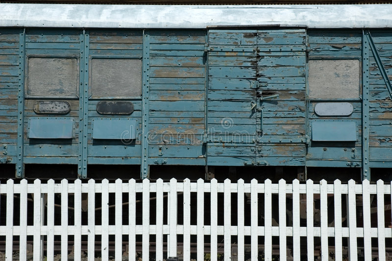 Old train carriage royalty free stock image