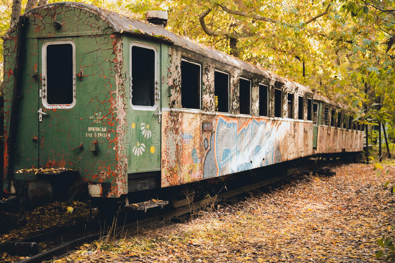 Old Train Carriage Steam Punk royalty free stock images