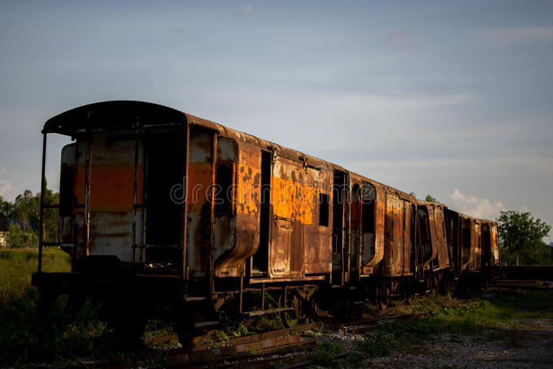 Old train stock photo