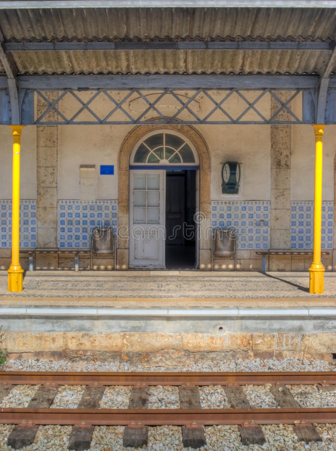 Old Train Station stock image