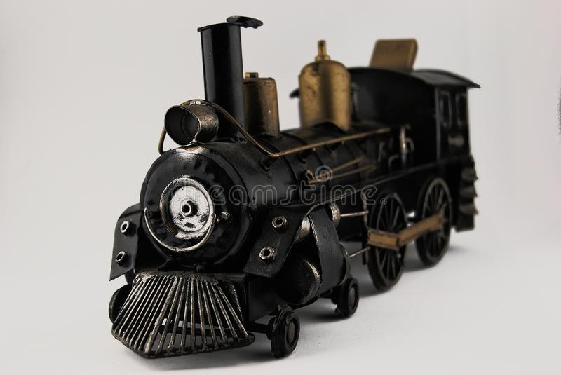 OLD TRAIN TOY royalty free stock photo
