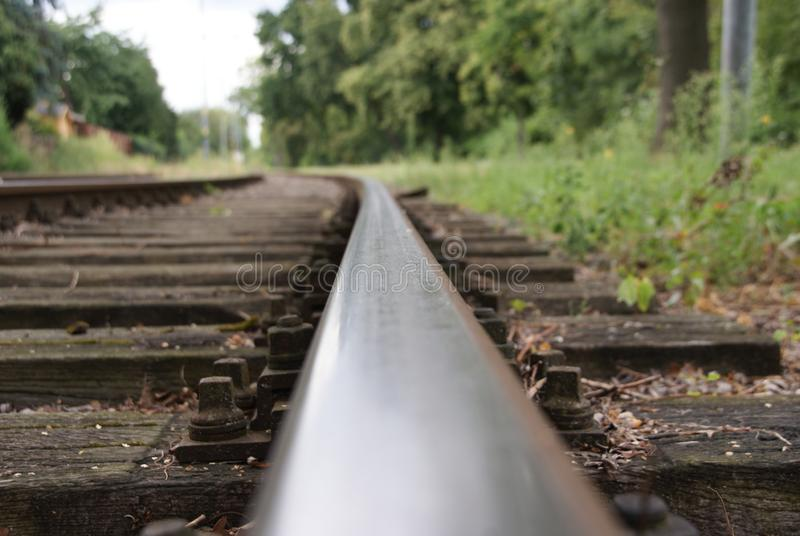 old train track stock photos