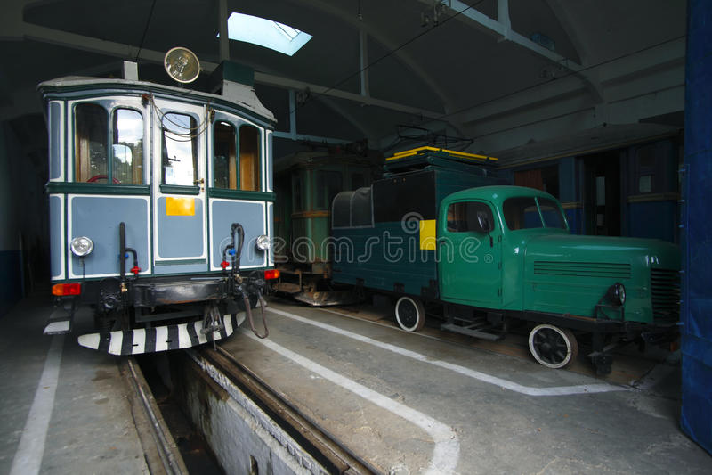 Download Old tramway stock image. Image of retro, electric, attraction - 10898999