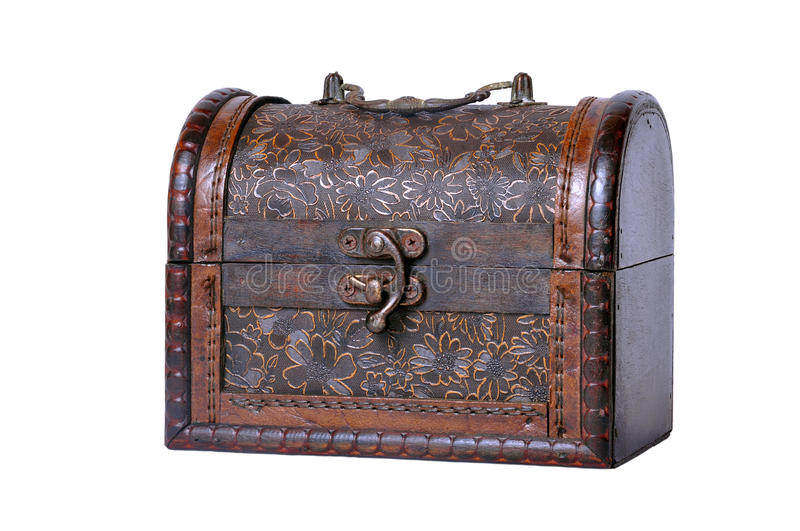 Old Treasure chest stock images