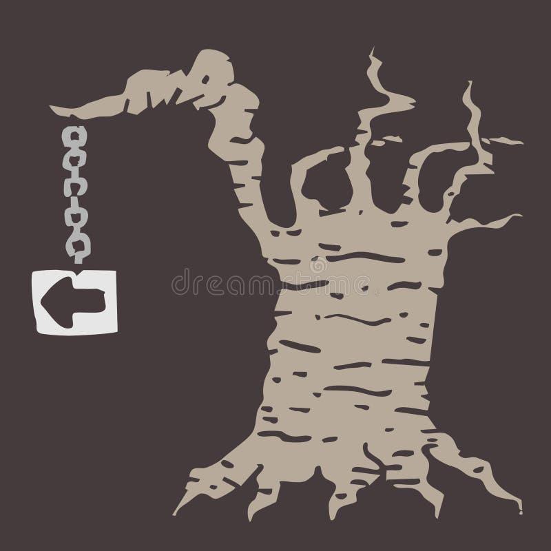 Old tree symbol