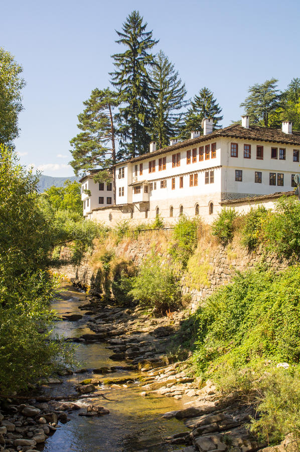 Old Troyan Monastery, Bulgaria royalty free stock images