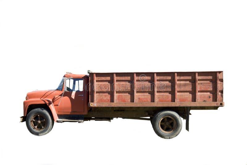 Download Old truck stock photo. Image of cabin, dump, vintage, background - 4057492