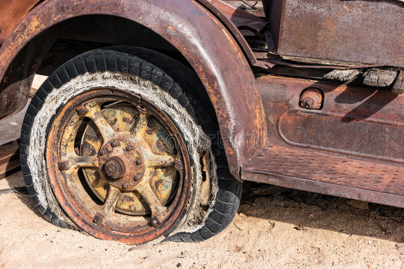 Old truck details royalty free stock photo